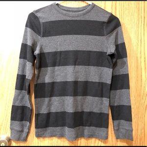 🔴5/$25 Long Sleeves Striped Shirt Top Kids Sz L